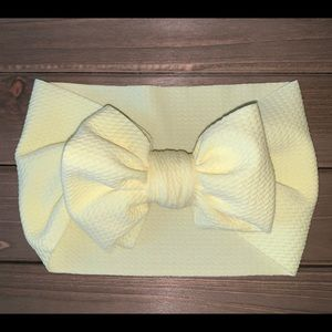 Other - Baby Head Wrap - Pastel Yellow
